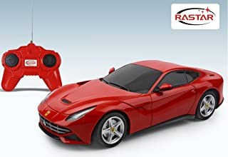 Rastar Ferrari F12 Remote Control Car, Red, 48100