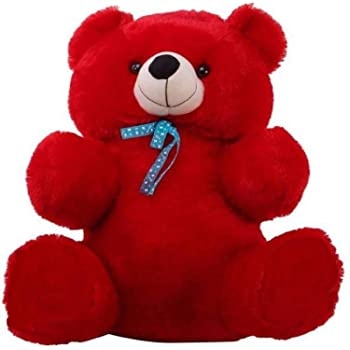 Click4Deal 2 Feet Long Soft Hugable Teddy Bear -Red (60 Cm)