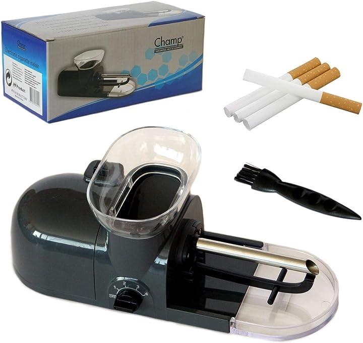 Dispositivo elettrico per preparare sigarette champ B00BH1G7M6