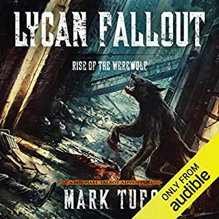 Lycan Fallout audiobook cover art