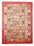 Nain Trading Arijana Bakhtiari 361x270 Orientteppich Teppich Beige/Rosa Handgeknüpft Pakistan