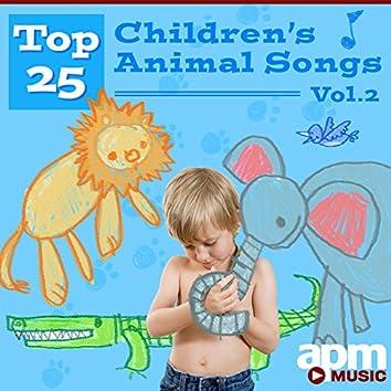 Top 25 Children's Animal Songs, Vol. 2