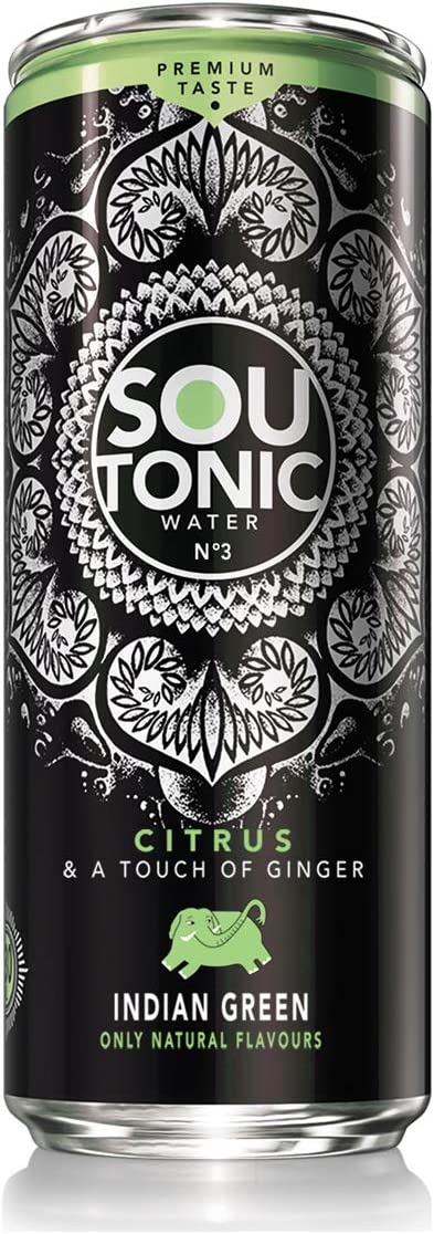 Sou Tonic, Citrus & A Touch of Ginger - 33cl (Quinina Natural) [Pack de 24]