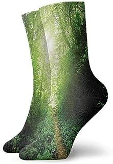 Pattern Socks,Socks Landscape Vivid Apocalyptic Day