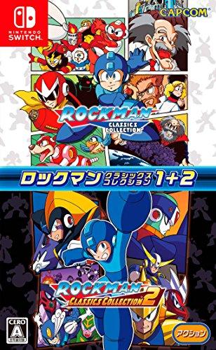 Capcom Rockman Classics Collection 1 +2 Megaman NINTENDO SWITCH JAPANESE IMPORT REGION FREE [video game]