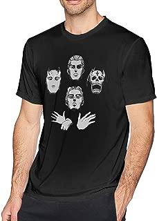 DDHHYY JoJo's Bizarre Adventure Kira Yoshikage Killer Queen Rhapsody Men's Short Sleeve T-Shirt