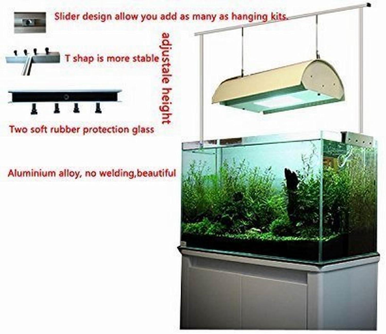 Aquarium Light Suspension System 12  16  24  30  36  40  42  47  50  60  Tank Bracket Hanging Kit (12 )