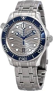 Omega - Seamaster reloj automático de hombre con esfera gris 210.30.42.20.06.001