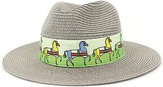 Sun Hat for men and women Women Men Straw Sun Hat Summer Lady Floppy Hat Wheat Straw Sunbonnet Beach Hat Size 56-58CM Sombrero