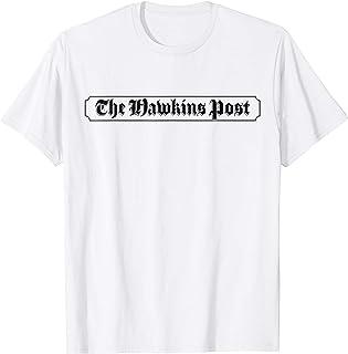 Netflix Stranger Things The Hawkins Post Logo T-Shirt