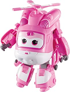 Super Wings - Transforming Dizzy Toy Figure, Helicopter, Bot, 5