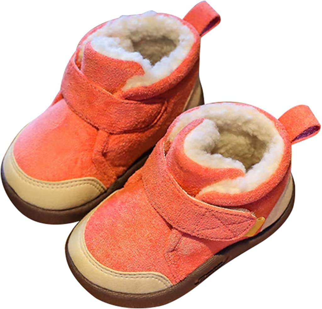 Baby Toddler Shoes Kids Popular popular Snow Suede Soft-soled Non-sli Boots Boot 5 ☆ popular