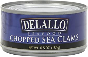 DeLallo Chopped Sea Clams, 6.5-Ounce Unit (Pack of 6)