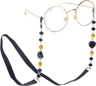 MOCOFO Eyeglass Chains for Women Beaded Reading Glasses Cords Sunglasses Holder Strap Lanyards Eyewear Retainer Acrylic