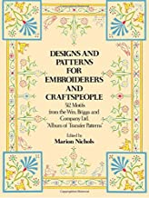 Designs and Patterns for Embroiderers and Craftspeople (Dover Pictorial Archive)