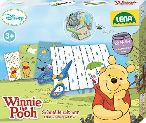 Lena 42637 - Schneide mit mir, Disney Winnie The Pooh, Spiel