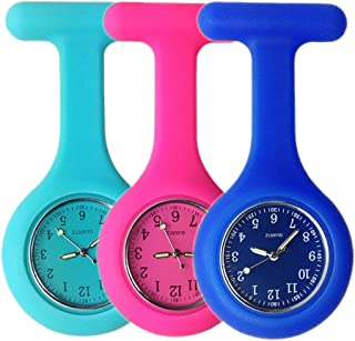 Nurse Watch,Nursing Watch,Nurse Watches for Women,Nurse Fob Watch with Second Hand,Clip on Nursing Watch