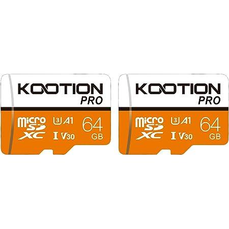Kootion Micro Sd Karten 64gb Speicherkarte 2er Pack Computer Zubehör