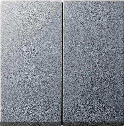 Gira 026626 Serienwippen mit Set IP44 System 55, alu