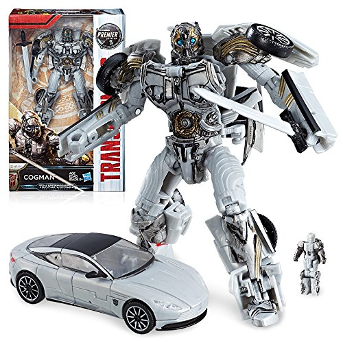 Transformers: The Last Knight Premier Edition Deluxe Cogman