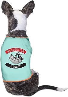 Fonsisi Lovely Dog Shirts Slaughterhouse Logo Pet Puppy Tank Top Vest Canine T-Shirt