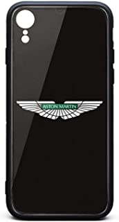 iPhone XR Case Aston-Martin-Car-Logo- Ultra-Thin Back Case Anti-Scratch Shockproof Protective Case Protection TPU Soft Rubber Silicone Phone Case Cover iPhone XR Case [6.1inch]
