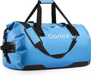 Gonex 40/60/80L wasserdichte Reisetasche Rucksack Sporttasche für Camping Wandern Outdoor Abenteuer