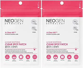 NEOGEN DERMALOGY A-CLEAR AID SOOTHING SPOT PATCH 24 COUNT (2 PACK) PIMPLE PATCH, ACNE CARE