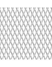 Festnight roostermat draadgaas strekmetaal roestvrij staal 50 × 50 cm 30 × 17 × 2,5 mm