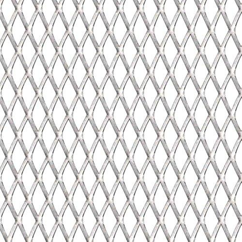 yorten Gittermatte Drahtgitter Maschendraht Edelstahl Streckmetall Gitter für Errichten eines Zauns, Bauen von Tierställen - 100 × 85 cm, 30 × 17 × 2,5 mm