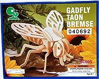 Gadfly Wooden 3-D Puzzle [並行輸入品]