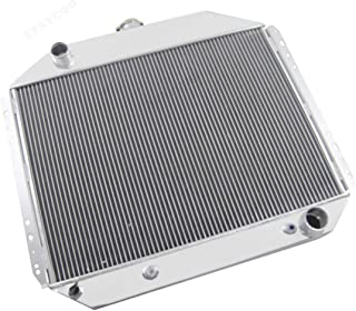 STAYCOO 4 Row All Aluminum Radiator for 1966-1979 Ford F100 F150 F250 F350,Bronco Chevy Engine Conversion