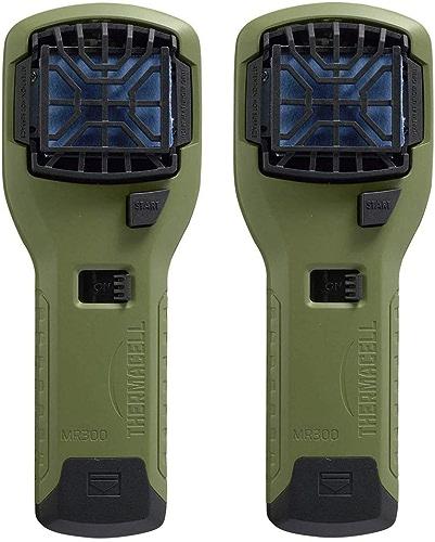ThermaCELL moustique Répulsif de camping d'extérieur et appareils 2-pack vert olive