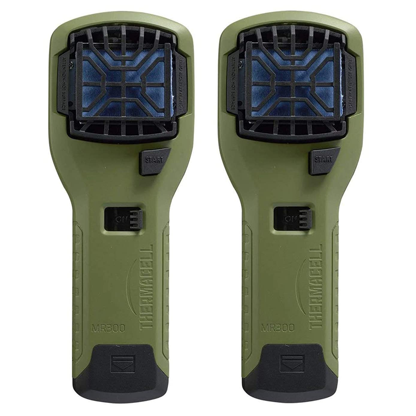 Thermacell Mosquito Repellent Outdoor & Camping Repeller Device (Olive), 2-Pack Kit with 6 Mats + 2 Cartridges