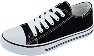 Women's Logan-1 Fashion Canvas Lace-Up Sneakers