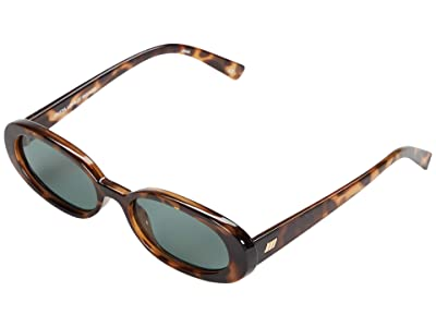 Le Specs Outta Love (Tortoise) Fashion Sunglasses