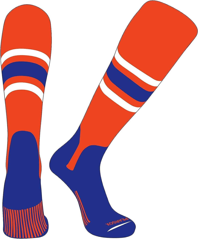 PEARSOX Elite Baseball Knee High Orange Stirrup E 5in Max 52% OFF free shipping Socks
