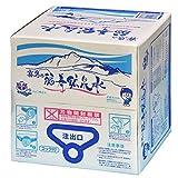 霧島の福寿鉱泉水 硬水 シリカ水 20Lバッグインボックス箱入コック付 温泉水 シリカ160mg/L