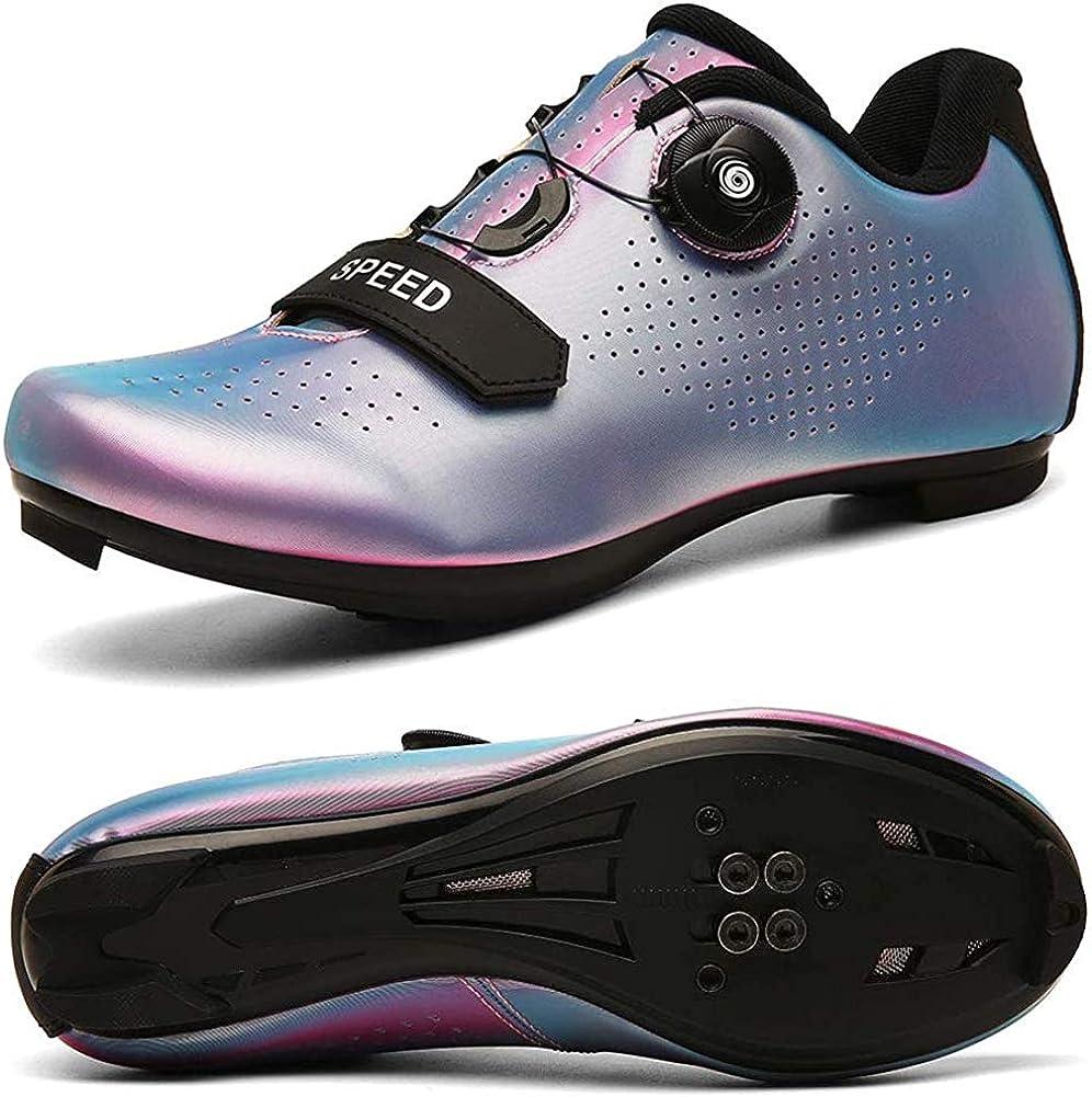 STEELEMENT.Herren Fahrradschuhe Spin Shoestring mit kompatiblen Stollen Peloton Schuh mit SPD und Delta f/ür M/änner Lock Pedal Fahrradschuhe