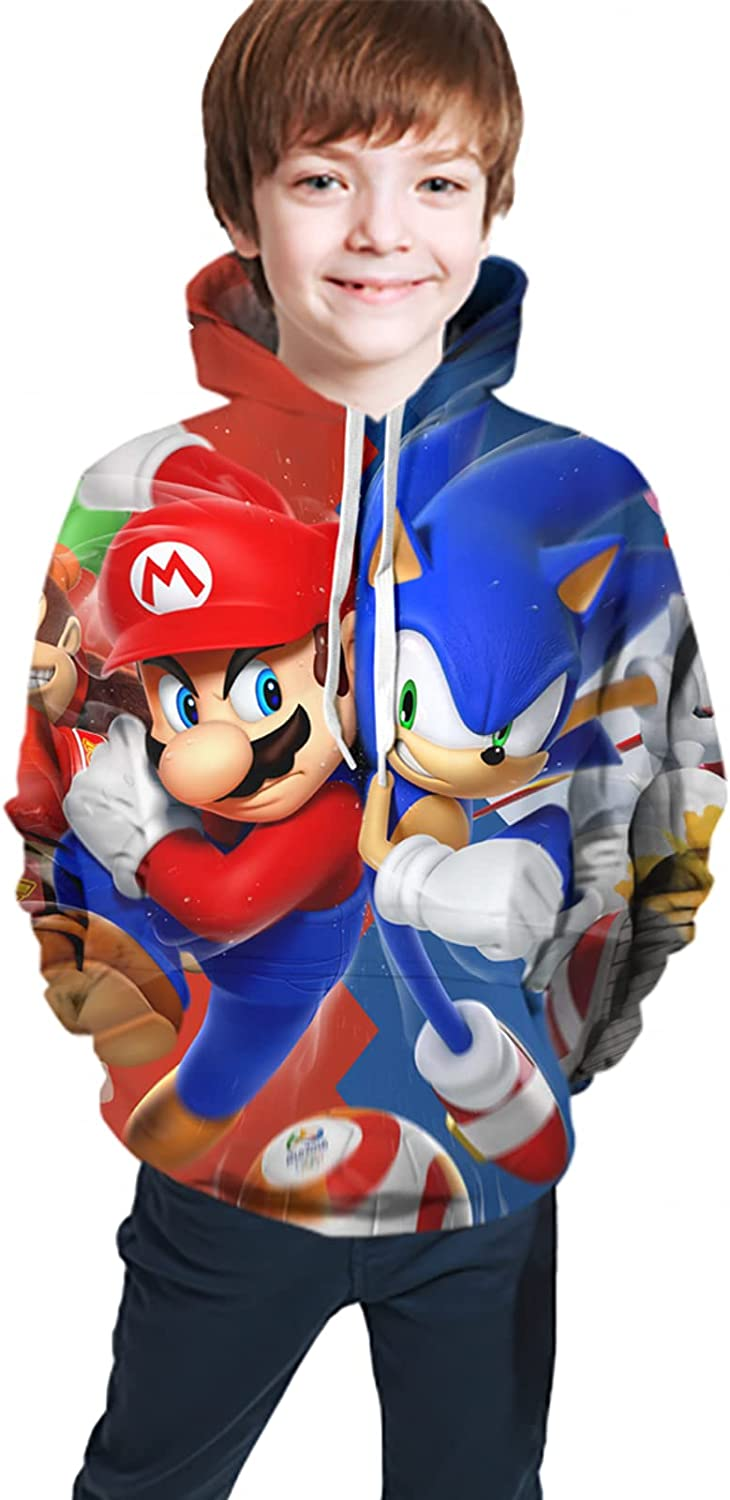 Boys And Girls Anime Games Hoodies, Street Fashion Sweaters, The Best Birthday Gifts