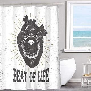 MKOK Vintage Shower Curtain 60