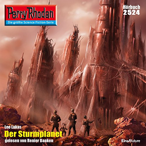 Der Sturmplanet (Perry Rhodan 2524) Titelbild
