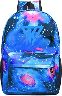 Its-Funneh Travel Galaxy Laptop Backpack School Student Bookbag College Bags