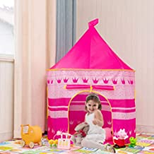 Bonus Princesse Habillez Tutu Costume ensemble! YOOBE 5pc Princesse Tente pour les filles Jouer Tente Princesse Ch/âteau