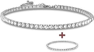 thick diamond choker necklace