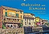 Malcesine und Sirmione, Schönheiten am Gardasee (Wandkalender 2019 DIN A2 quer): Eine Reise in die wunderschönen Orte Sirmione und Malcesine am Lago di Garda. (Monatskalender, 14 Seiten )