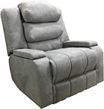 Classic Recliner Chair Upholstered AB07 - Grey