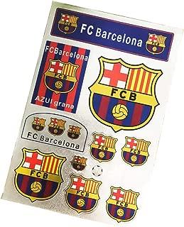 ZQfans Football Club Soccer Team Logo Stickers Car/Glass/Laptop/Wall Sticker Decal (Barcelona, 7.811.8inch)