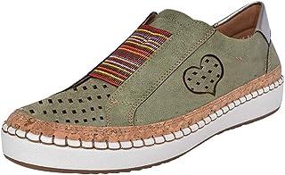 980679c9 Zapatos Mujer Verano 2018, Women Retro Green Green Classic Walking Running  Climing Casual Shoes