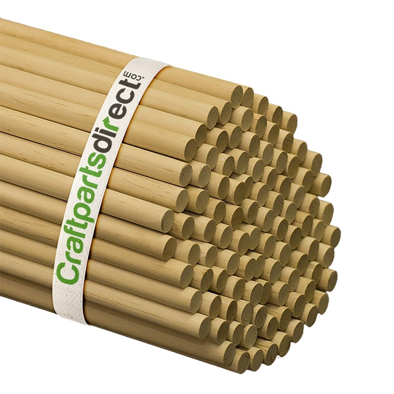 Wooden Dowel Rods - 1/2